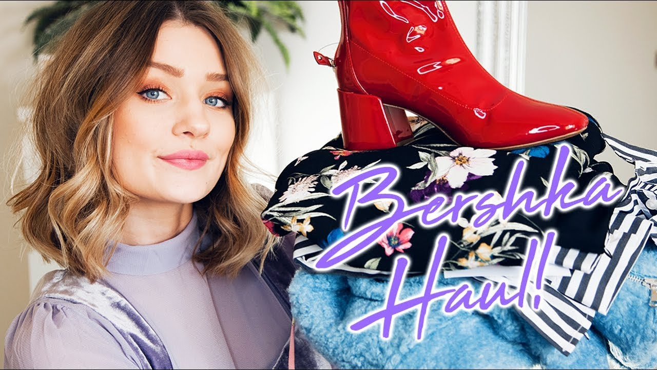BERSHKA SALE HAUL & TRY ON! | Laura Bradshaw