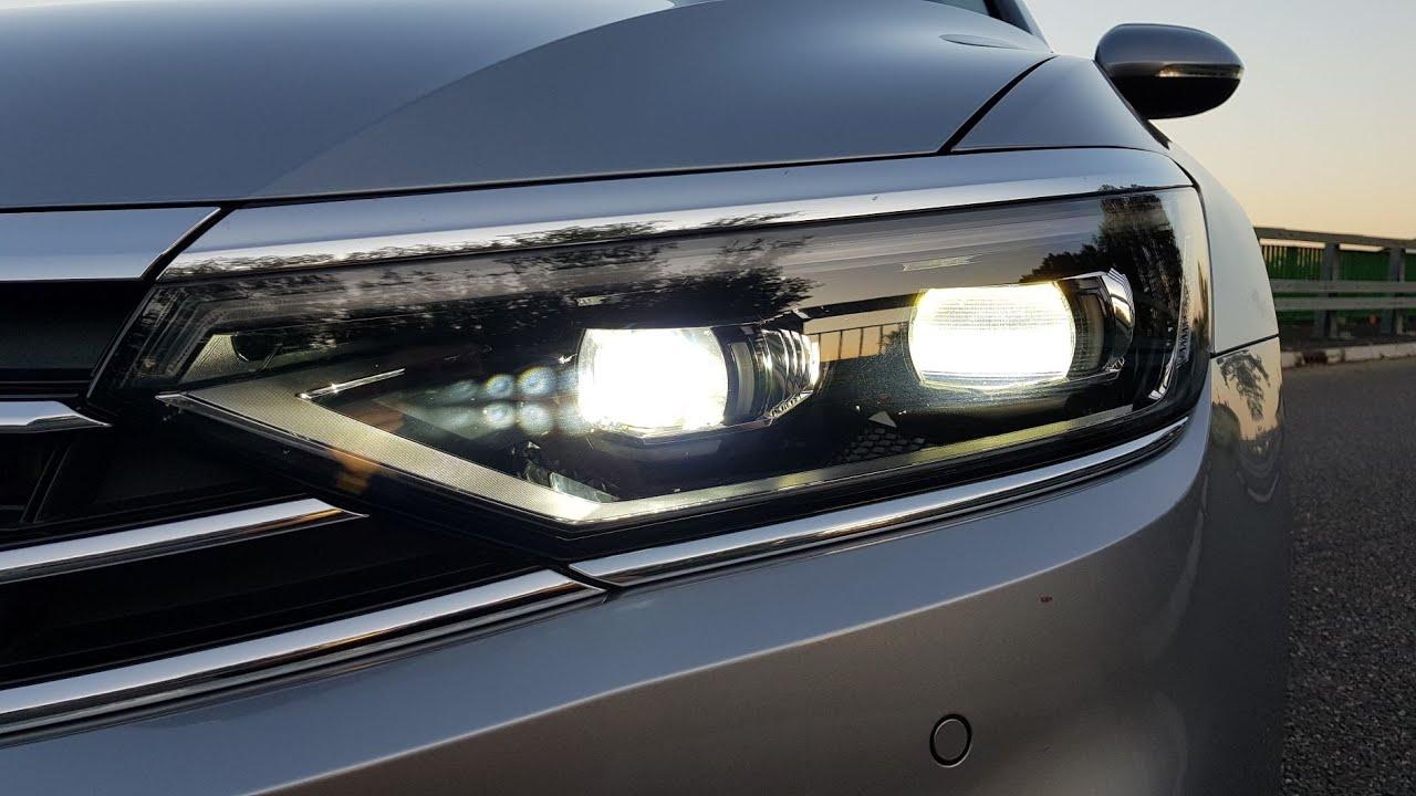 2020 Volkswagen Passat IQ LIGHT MATRIX LED TEST