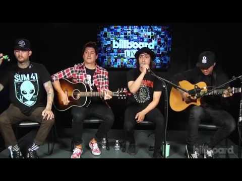 Pierce The Veil Floral and Fading, Circles and Issues ACOUSTIC 2017- BILLBOARD