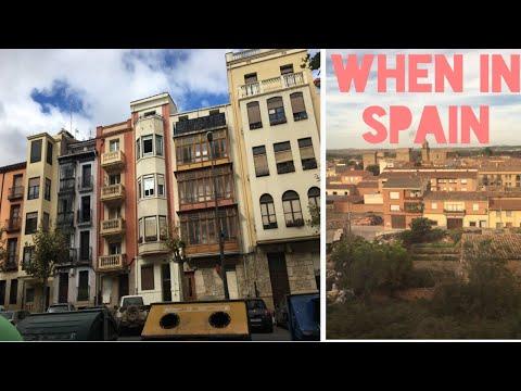 FIRST WEEK IN SPAIN AS AN AU PAIR
