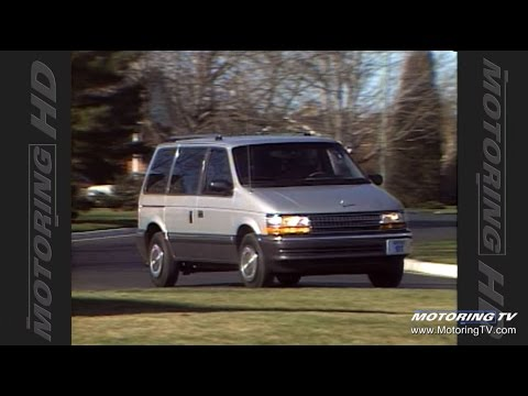 Test Drive: 1991 Plymouth Voyager