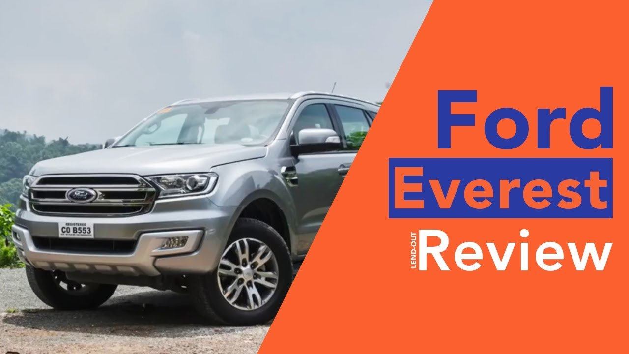 2018 Ford Everest 2.2 Liter A/T Trend Car Review