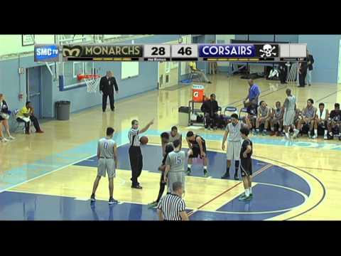 Santa Monica College Men's Basketball vs LA Valley College - January 24, 2015 (Full Game)