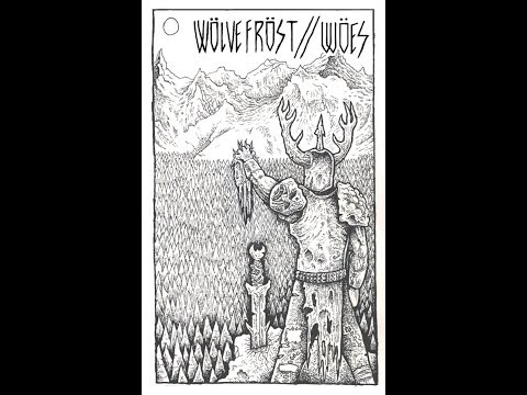 Wolvefrost // Woes Split (Black Crust, 2014)