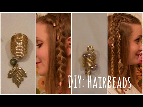 DIY: Metal Hair Beads For Cosplay Hairstyling and How to Wear Them.