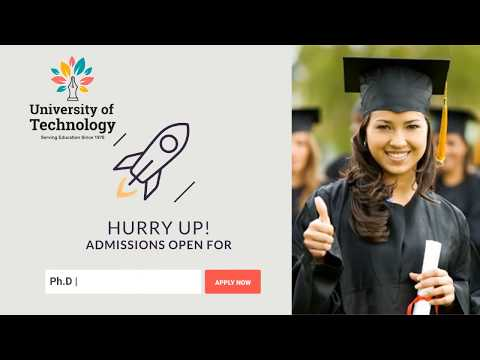 University Of Technology - Phd Admission Apply