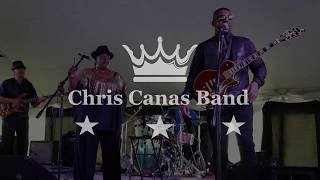 Chris Canas Band: Fine As Wine LIVE at the Tawas Blues Festival 2018
