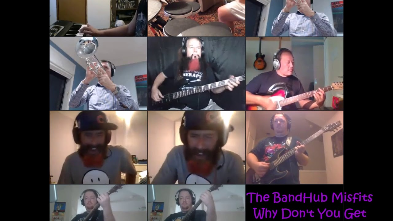 Why Don't you get a Job cover by The BandHub Misfits