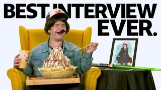 """Download """"Stranger Things"""" Star Gaten Matarazzo Has The Best Interview Ever Mp3 and Videos"""