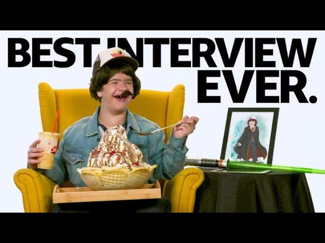 """Stranger Things"" Star Gaten Matarazzo Has The Best Interview Ever"