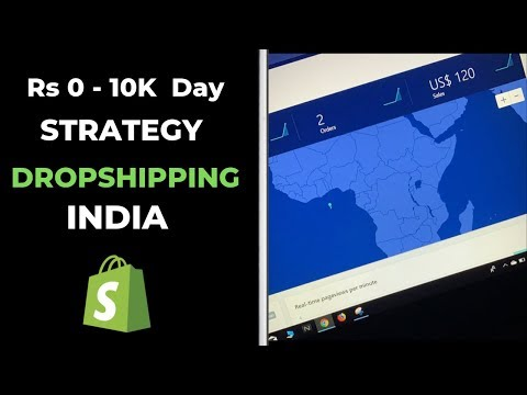 HOW I MAKE RS 10K DAY WITH SHOPIFY DROPSHIPPING IN INDIA thumbnail