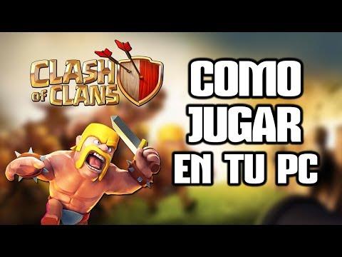 Como jugar a Clash of Clans en PC l Jugar Clash of Clans Ordenador (Español)