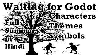 Waiting For Godot - Full Summary in Hindi - Samuel Beckett