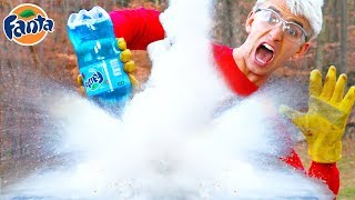 WORLDS COLDEST SODA!! (LIQUID NITROGEN)