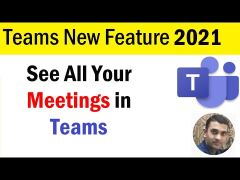 How to See All Your Meetings in Teams | New Features in Microsoft Teams | Microsoft Teams New Update