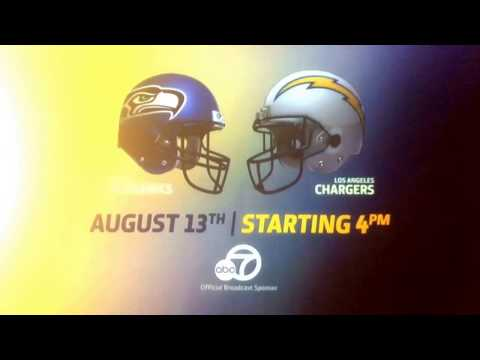 KABC ABC 7 Los Angeles Chargers preseason promos (August 2017)