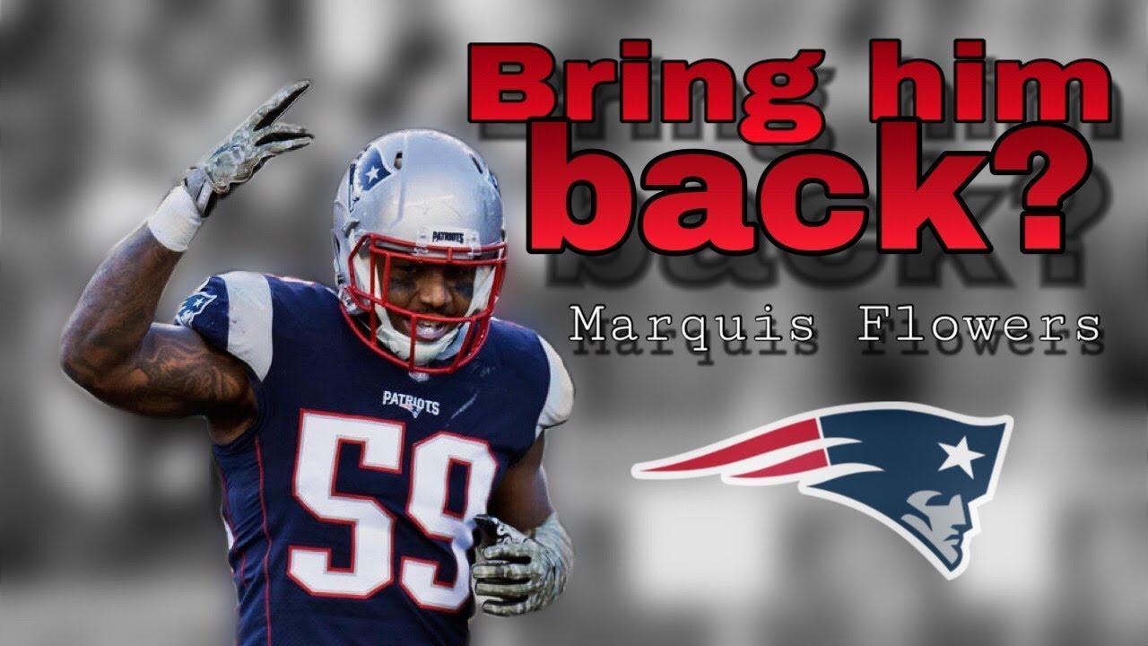 best service 77a97 6f5f5 Patriots should re-sign LB Marquis Flowers