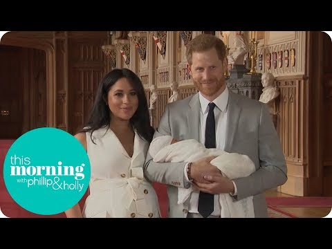 Phillip & Holly React to First Glimpse of Royal Baby | This Morning