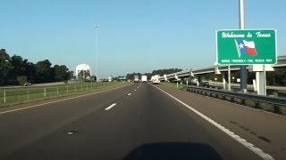 WELCOME TO TEXAS (I-30) AT ARKANSAS STATE LINE