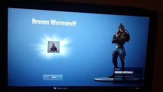 Dire: Brown Werewolf Unlocked/Fortnite