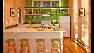 видео Как сделать фартук на кухне своими руками.Облицовка кухни