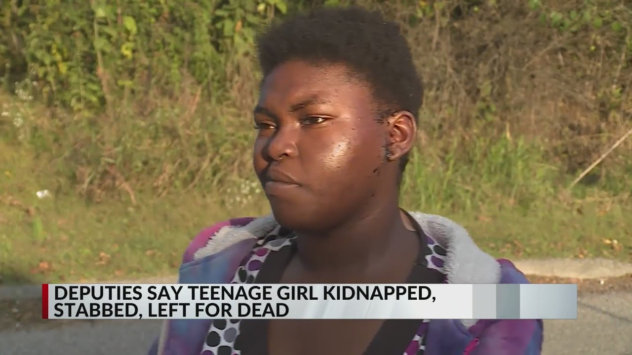 Download Teenage girl kidnapped, stabbed and left for dead
