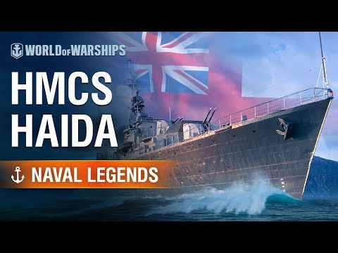 Naval Legends: HMCS Haida | World Of Warships