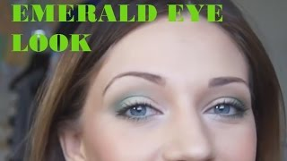 TUTORIAL: Emerald Green Eye Makeup Thumbnail