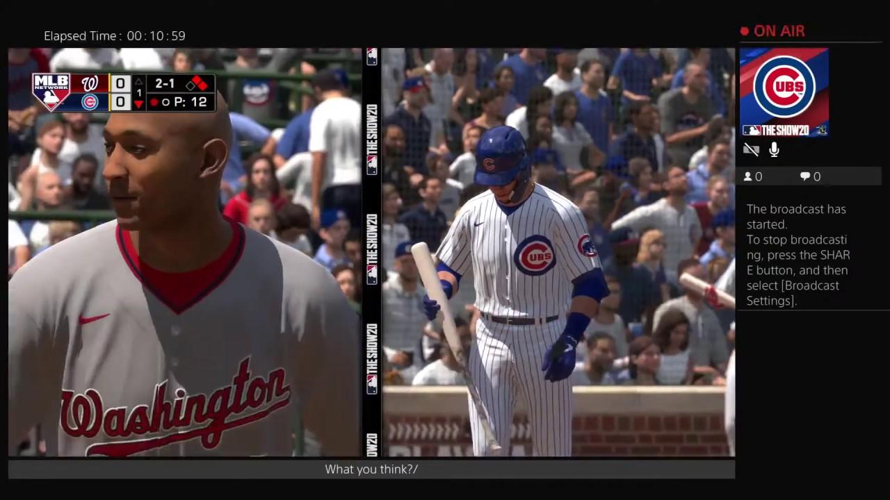 Nats vs Cubs (May 9, 2020)