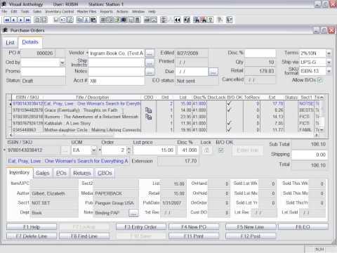Purchase Order Webinar Recording