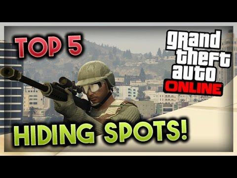 GTA 5 Online - Top 5 SECRET LOCATIONS on GTA 5 Online (GTA ...