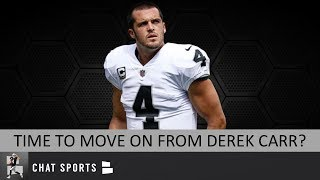 Derek Carr Rumors: Raiders Should Move On From DC? Time To Look at 2020 Draft & Free Agency?