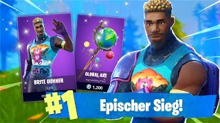 WIN WITH NEW COLORS SKIN! *EPISCH* (Fortnite Battle Royale English)