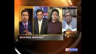 AAP's Clean Sweep: Discussion With Arnab Goswami, Sagarika Ghose & Dilip Padgaonkar