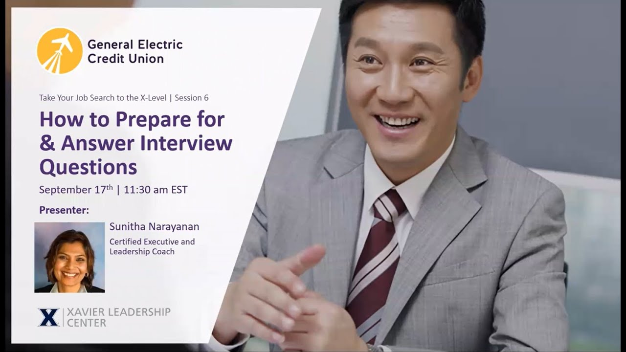 Session 6: How to Prepare For & Answer Interview Questions ...