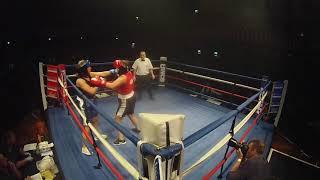 Ultra White Collar Boxing | Scunthorpe | Tara Burton VS Oriel English