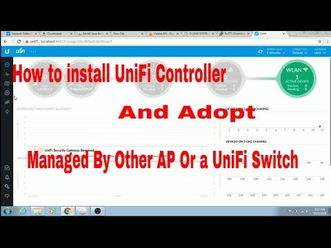How to Install UniFi Controller | Adopt Managed AP| UniFi Access