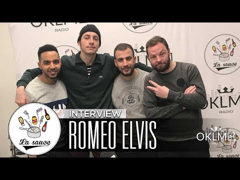 ROMEO ELVIS (Morale2Luxe, Angèle, Disque d'Or...)  - #LaSauce Sur OKLM Radio 07/02/18