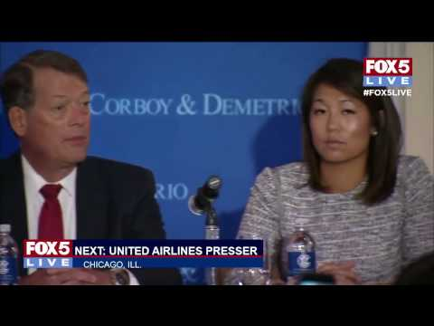 FOX 5 LIVE: MOMENTS AGO: Attorneys representing Dr. Dao speak to media re: United Airlines incident