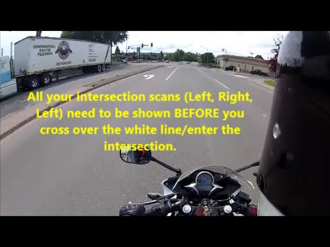 Motorcycle Road Test Run-Thru | ICBC Motorcycle Road Test | Class 6 Road Test | Class 8 Road Test