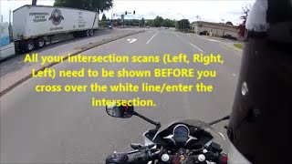 Motorcycle Road Test Run-Thru | ICBC Motorcycle Road Test | Class 6 Road Test | Class 8 Road Test