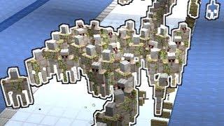 The Iron Flood - 10k Iron per hour Iron Farm - Minecraft 1.14.3 pre 1