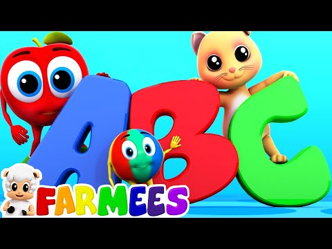 The Phonics Song | Alphabets Song | Nursery Rhymes | ABC Songs by Farmees
