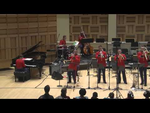 "BERLIN ""White Christmas"" (arr. Crotty) - ""The President's Own"" U.S. Marine Big Band"