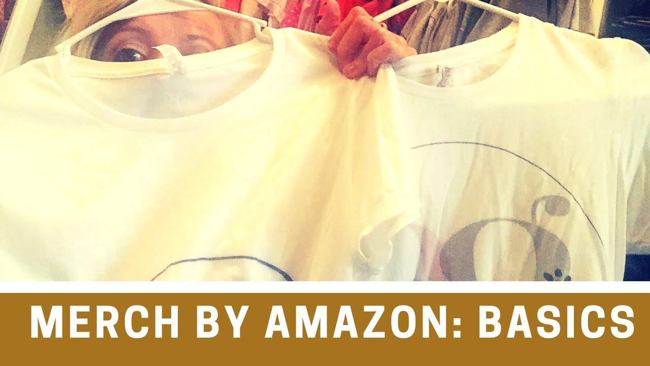 25ec881a4 Merch by Amazon | Basics | Print On Demand T-shirts - YouTube