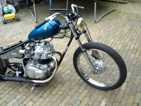 Honda CB360 Hardtail
