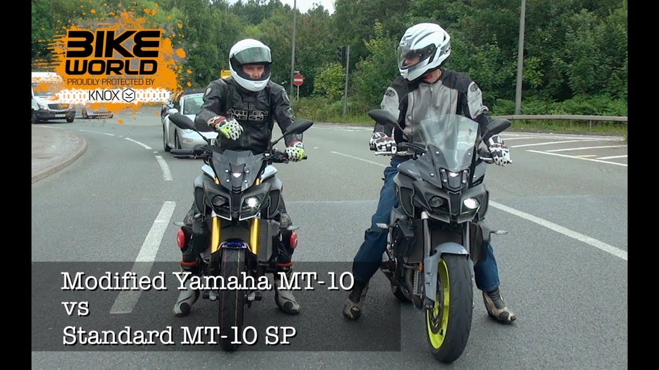 Modified Yamaha Mt 10 Vs Mt 10 Sp