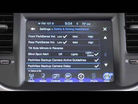 2015 Chrysler 300 ParkView Rear Backup Camera