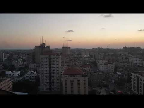 Fear of darkness sunset time lapse gaza