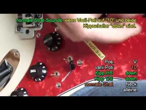Variable Gitarren- Schaltung - St-Style - S-Varii I+ HSS - Sound ...
